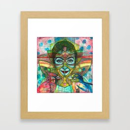 She Thought She Was Small and Trapped, But She Was Not Framed Art Print