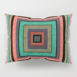 Combination marble patchwork 2 Pillow Sham