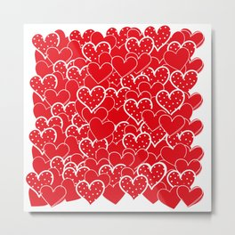 Valentine's background Metal Print