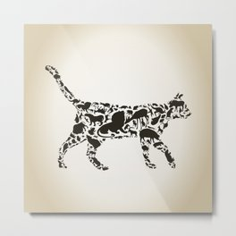 Cat an animal Metal Print