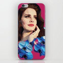 Del rey iPhone Skin