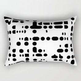 MACRO PIXELS Rectangular Pillow