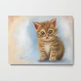 Kitty Metal Print