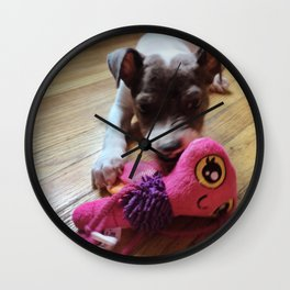 My Pup Wall Clock