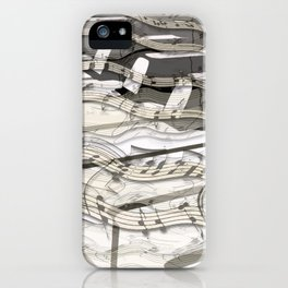 Streaming Piano Music iPhone Case
