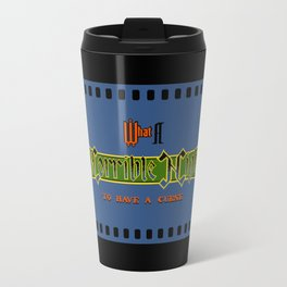 Castlevania II - What a Horrible Night to Have a Curse Travel Mug