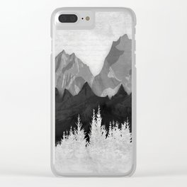 Layered Landscapes Clear iPhone Case