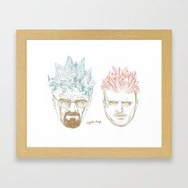 Crystal Kings Framed Art Print