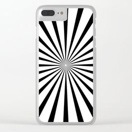 A Matter of Perspective Clear iPhone Case