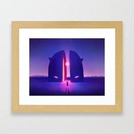 Inner Shadow Framed Art Print