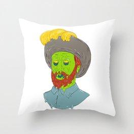 Marquis Conquistador Grime Art Throw Pillow