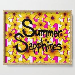 Summer Sunflower Serving Tray