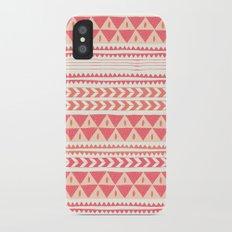 Winter Stripe II Slim Case iPhone X
