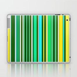 GREEN SPRING STRIPES Laptop & iPad Skin