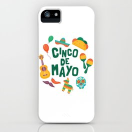 Cinco de Mayo Colorful iPhone Case