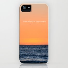 MEDITERANEAN SUNSET - Limited Edition iPhone Case