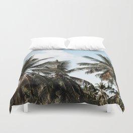 palm trees ii / sri lanka Duvet Cover
