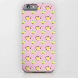 Spring floral pattern 9 iPhone Case