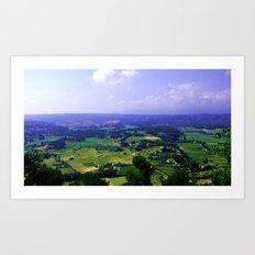 Ma Provence Art Print