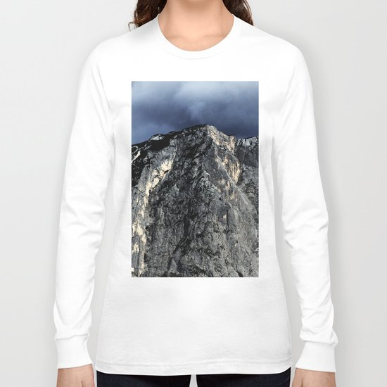 "Unbreakable ""Der Loser"" #1 #Mountain #art #society6 Long Sleeve T-shirt"