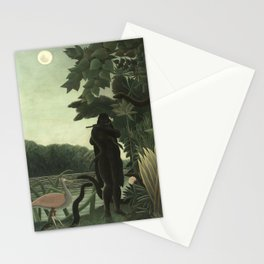 Henri Rousseau - The Snake Charmer Stationery Cards