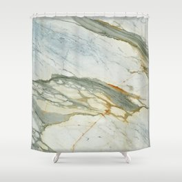 Classic Italian Marble Shower Curtain