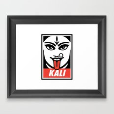 Obey Kali Framed Art Print