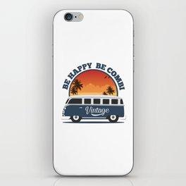 Be Happy Be Combi iPhone Skin