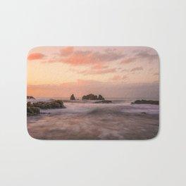 Coastal sunset Bath Mat