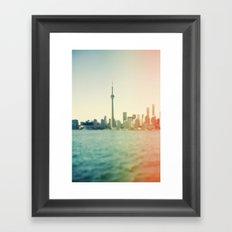 Shades Of The City Framed Art Print