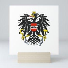 Oida Austria Austria Dialect Eagle Mini Art Print