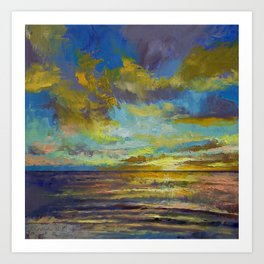 Sunset Key Largo Art Print