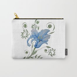Stylised Flower  Carry-All Pouch