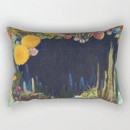 Cave Garden II Rectangular Pillow
