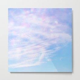 confetti sky Metal Print