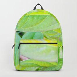 Happy Neon Green Fall Sapling Backpack