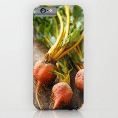 Rustic Golden Beets Slim Case iPhone 6s