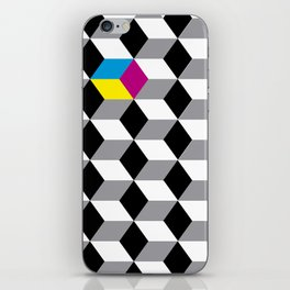 cubes iPhone Skin