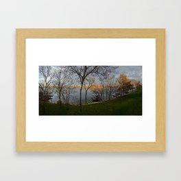Lake Winnebago Framed Art Print