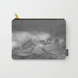 """Wild mountains"". BW Carry-All Pouch"