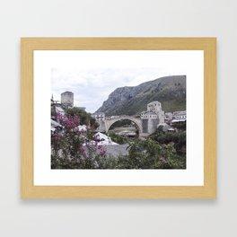 Mostar BiH III Framed Art Print