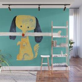 Lucky dog Wall Mural