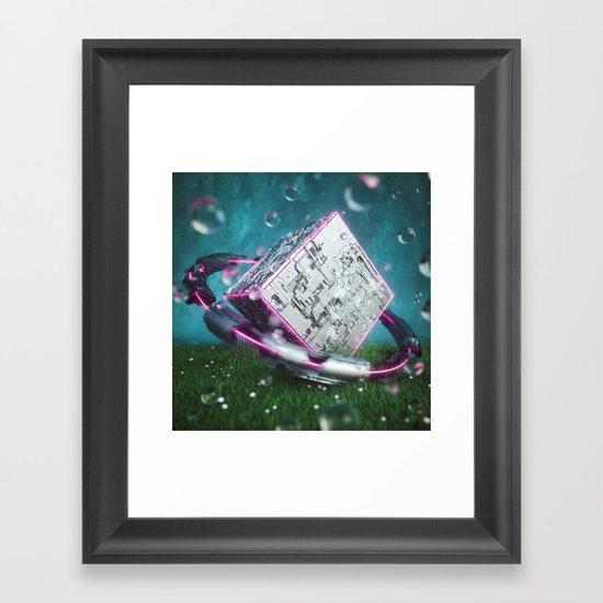 CT Framed Art Print