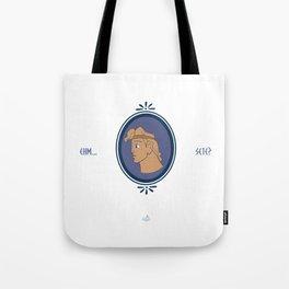 Bibitone greco Tote Bag
