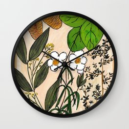 Oils of Ancient Scripture Set 2 Wall Clock