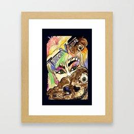 terrorvision border Framed Art Print