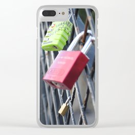 Locks of Love Clear iPhone Case