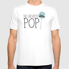 The Greatest Pop Mens Fitted Tee White MEDIUM