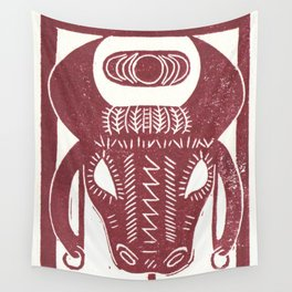 Strength (White) Wall Tapestry