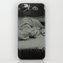 Go to bed iPhone Skin